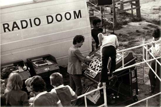 Mike Dj'ing Radio Doom at Leasoe